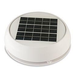 "Day/Night Solar Vent, 4"" (10.16 cm) White"