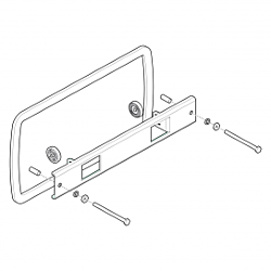 IDMK H7 RD - In-Dash Mounting Kit HELIX 7 Models REINFORCED
