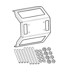IDMK S10 - In-Dash Mounting Kit SOLIX 10 Models REINFORCED