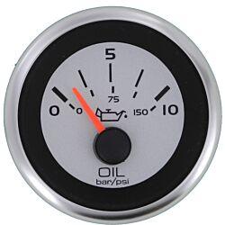 """Eng Oil Pres Gauge 10 Bar 10-180ohm 2"""""""