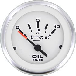 Eng Oil Pressure Gauge 10 Bar 10-180ohm 2""