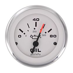 Eng Oil Pres Gauge 0-80 PSI 240-33ohm 2""