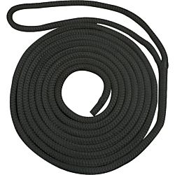 Waveline 14mm Pre-Spliced Dockline Black 14M