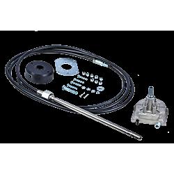 Lite 55 - Steering Helm (Aluminum) (with Black Bezel Kit)