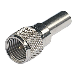 Mini-UHF Connector For RG58 (Cellular)