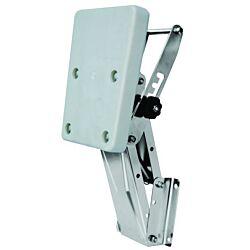 Outboard Engine Bracket S/S  c/w Plastic Pad (40kg)