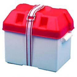 Battery Box Standard Red 190x270x200mm