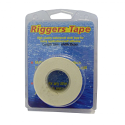 10m X 25mm - White Riggers Tape