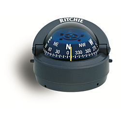 "Ritchie Explorer™ S-53, 2¾"" Dial Surface Mount - Grey"