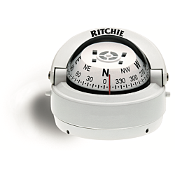 "Ritchie Explorer™ S-53, 2¾"" Dial Surface Mount - White"