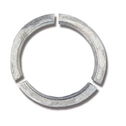 Zinc saildrive anode 0.35kg for Volvo Penta. Folding propeller ring.