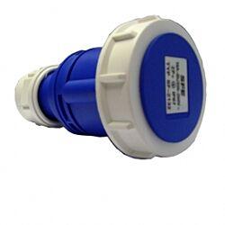 Industrial Connector (Female) 16A 220-250VAC 2P+E IP67 Blue