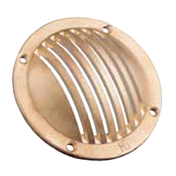 Slotted Round Scoop (Brass)