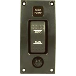 Bilge Pump Switch Panel