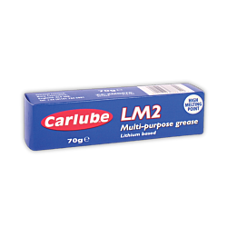 2Carlube XMG070 LM2 Lithium Multi-Purpose Grease 70g