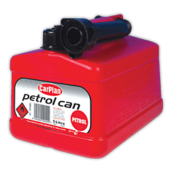 Tetracan Petrol Can - Red (5Ltr)