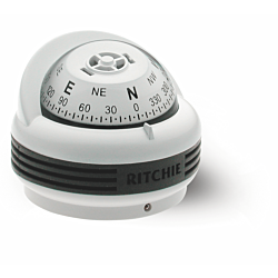 "Ritchie Trek™ TR-33, 2¼"" Dial Surface Mount - White"