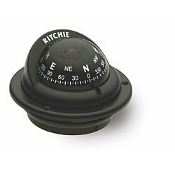 "Ritchie Trek™ TR-35, 2¼"" Dial Flush Mount - Black"