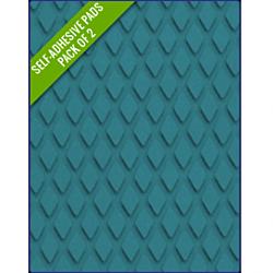 BLUE - Original Step Pads DiamondPattern 275x135x3/2mm