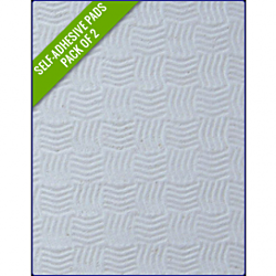 WHITE SAND - Original Step Pads Smooth Pattern 275x135x3/2mm