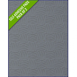 GREY - Original Step Pads Smooth Pattern275x135x3/2mm