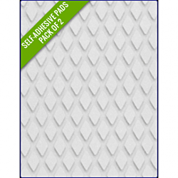 WHITE SAND - Original Step Pads Diamond Pattern 550x135x3/2mm
