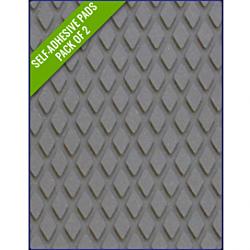 GREY - Original Step Pads Diamond Pattern 412x203x3/2mm