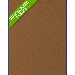 FAWN - Original Step Pads Smooth Pattern 550x135x3/2mm