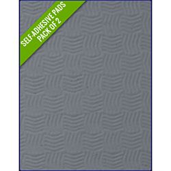 GREY - Original Step Pads Smooth Pattern 412x203x3/2mm