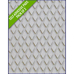 LIGHT GREY - Original Step Pads Diamond Pattern 550x135x3/2mm