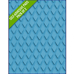 LIGHT BLUE - Original Step Pads Diamond Pattern 412x203x3/2mm