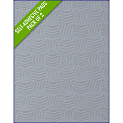 LIGHT GREY - Original Step Pads Smooth Pattern 275x135x3/2mm