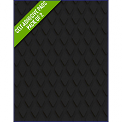 BLACK - Original Step Pads DiamondPattern 275x135x3/2mm