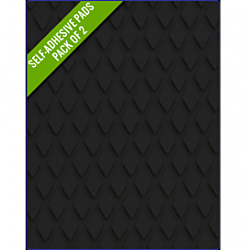 BLACK - Original Step Pads Diamond Pattern 550x135x3/2mm