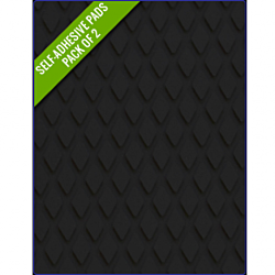 BLACK - Original Step Pads Diamond Pattern 412x203x3/2mm