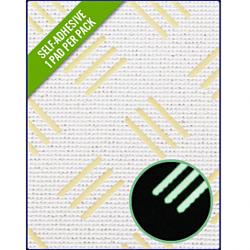 Checker White/Green Glow 275 x 135 x 3mm