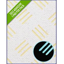 Checker White/Blue Glow 412 x 203 x 3mm