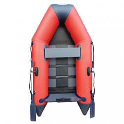 2.50m Red WavEco Ultra inflatable boat with a solid transom & Slatted Floor