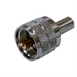 Uhf Pl259 Male Crymp-Type Connector For Rg8X