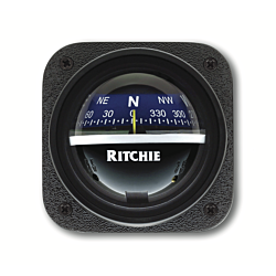 "Ritchie Explorer™ V-537, 2¾"" Dial Bulkhead Mount - Blue Card"