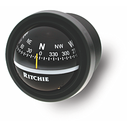 "Ritchie Explorer™ V-57.2, 2¾"" Dial Dash Mount - Black"