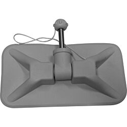 Rowlock Complete with Pad (Grey) ST