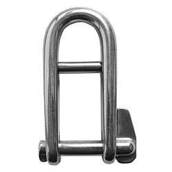 Halyard Shackle inc pin - S/Steel 38mm