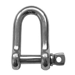 Dee Shackle - S/Steel 4mm