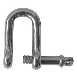 Dee Shackle Captive Pin - S/Steel 4mm