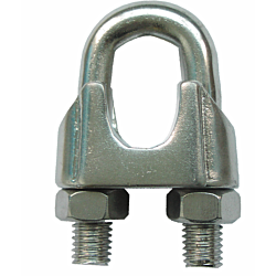 Wire Rope Grip - Stainless Steel AISI316 DIN741
