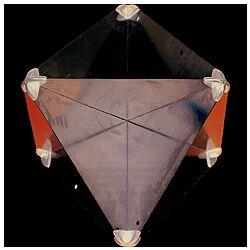 Folding Radar Reflector 215x215x300mm