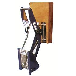 Outboard Engine Bracket S/S C/W Wood Pad 25HP (60kg)
