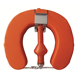 Complete Horseshoe Set Buoy Bkt & Light Orange