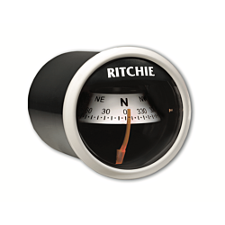 "RitchieSport® X-21, 2"" Dial Dash Mount - White"